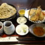 ほりのうち@大和市つきみ野で蕎麦「天麩羅せいろ 梅」