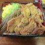 玉屋旅館@常陸大子駅前で奥久慈「しゃも弁当」を持ち帰り