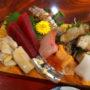 話食処しん@太田市でランチの「しんの刺身盛込み」
