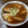 喜楽@大月市でラーメン「チューシュー麺」