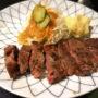 けやき@北坂戸で牛肉(ステーキ)、ファルシィ、NYカット、ランチ等